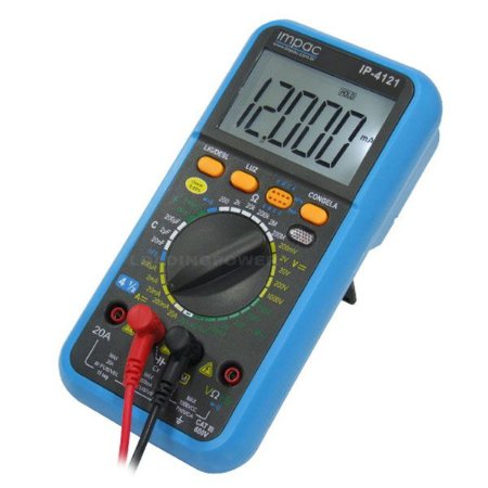 Multímetro Digital Profissional de Alta Precisão 4 ½ Dígitos IP-4121 Impac