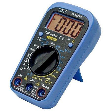 Multímetro Digital Portátil True RMS IP-302TR Impac