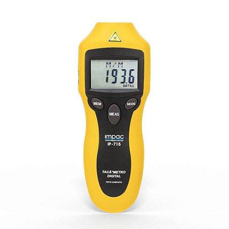 Tacômetro Digital Foto Contato IP-715 Impac