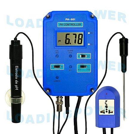 Controlador e Medidor de pH para Aquário PH-601