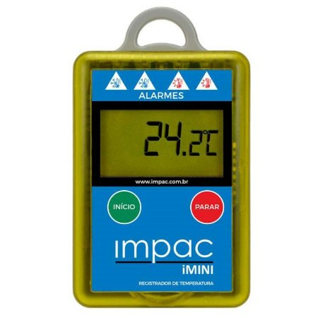 Termômetro Digital Data Logger iMini Impac