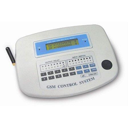 Controlador de Sinais Analógicos via GSM