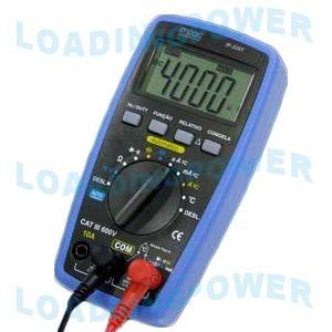 Multímetro Digital  3 3/4 Dígitos IP-335T