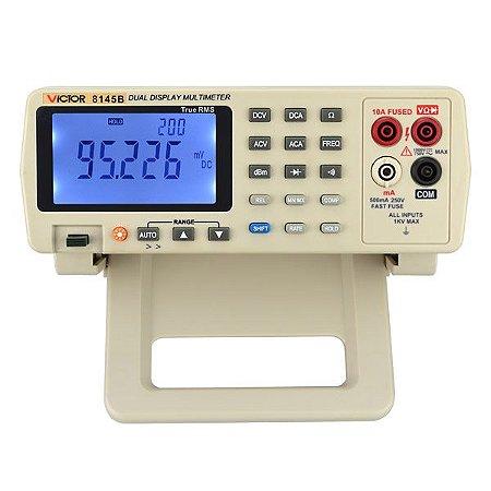 Multímetro Digital de Bancada True RMS Alta Precisão VC-8145