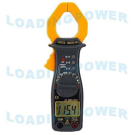 Alicate Amperímetro Digital DM-3218