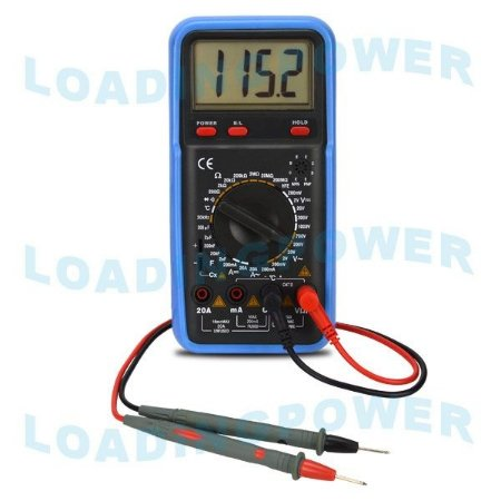Multímetro Digital VC-9804