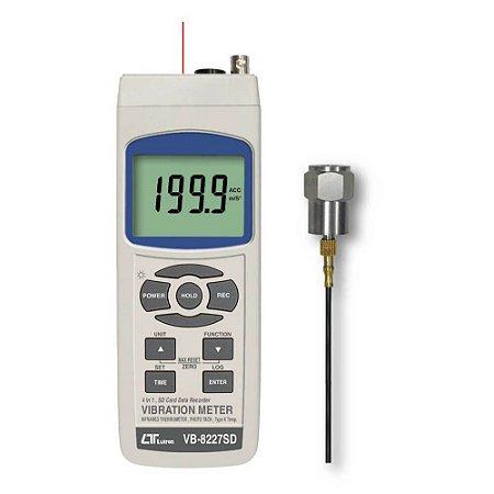 Medidor de Vibração 4 em 1 VB-8227SD Lutron