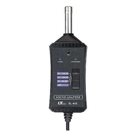 Decibelímetro Adaptador Para Multímetros Impac SL-406