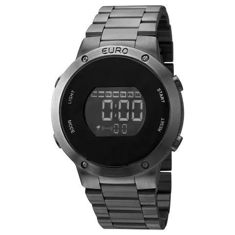 b45e8444f05 Relógio Digital Euro Feminino EUBJ3279AB 4P - Preto - Megamix Eletro