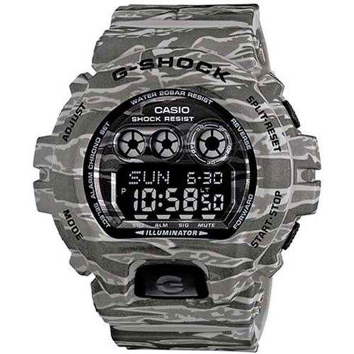 7fb4f0960e2 Relógio Casio Masculino G-Shock GD-X6900CM-8DR - Camuflado Cinza Com Cores