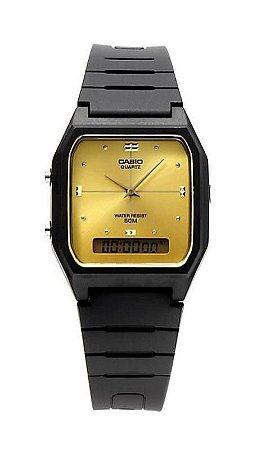 477adc19d7d Relógio Casio Vintage Digital Analógico - AW-48HE-9AVDF - Megamix Eletro