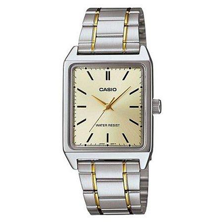3b8bd47376e Relógio Masculino Analógico Casio Mtp-V007SG-9EUDF - Prata DR ...