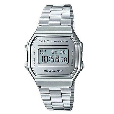 5bf071c786c Relógio Casio Unisex Vintage A168WEM-7DF - Megamix Eletro