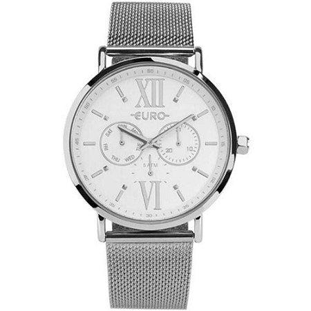 d3070eea578a2 Relógio Euro Feminino Prata Euvd75ae 3k - Megamix Eletro