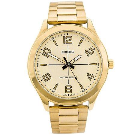 b5d972ce869 Relógio Casio Masculino Dourado Analógico MTP-VX01G-9BUDF - Megamix ...