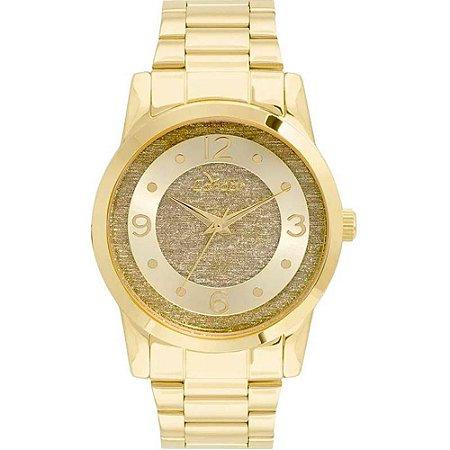 09abba3dc2d Relógio Feminino Condor Dourado Fundo Glitter - CO2039AN 4D ...
