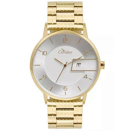 8ba6286a5c8 Relógio Masculino Condor Casual Metal COGM10AA 4K - Dourado ...