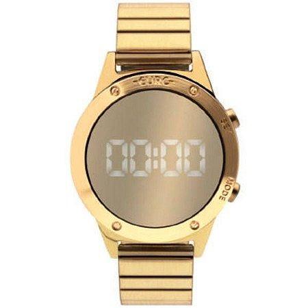 78ec037886e Relógio Euro Feminino Fashion Fit Dourado EUJHS3BAB 4D - Megamix Eletro