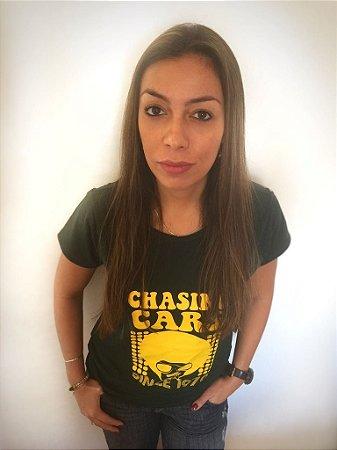 Camiseta masculina e Batinha feminina Chasing Cars - Compre igual para o seu dog!