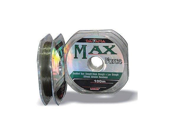 Linha Max Force Monofilamento 100m Caixa c/ 10 Unidades - Maruri