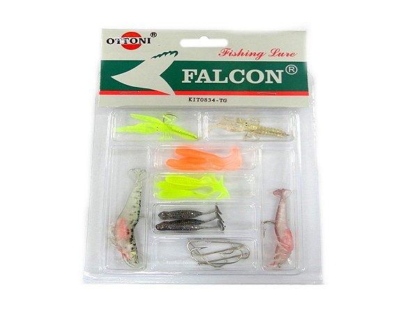 Kit Isca Silicone 0834-TG Mix - Ottoni