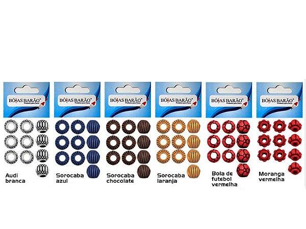 Miçanga Diferenciada N. 42 Cartela c/ 10 Unidades - Bóias Barão