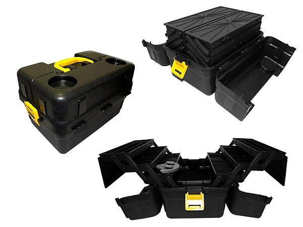 Caixa CX-6BJ-P Preta Unitária - HI
