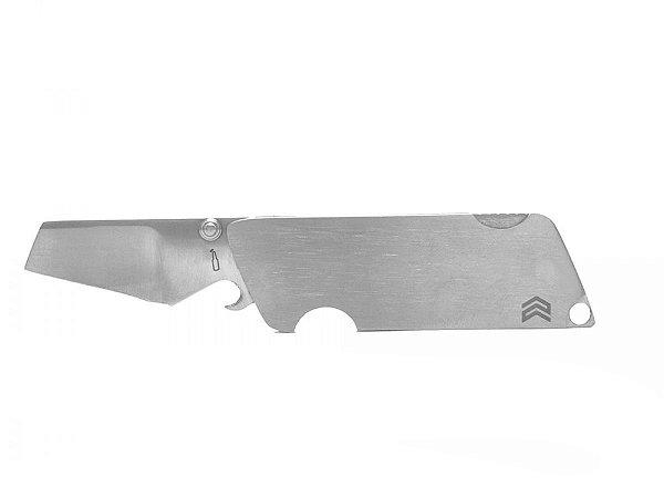 Canivete E-Cimo Lâmina Lisa Inox e Cabo de Inox - Cimo