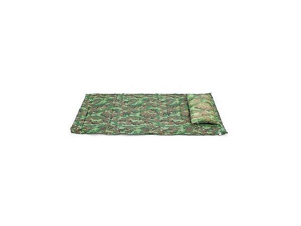 Kit Camping Colchonete c/ Travesseiro Cores Sortidas - Tubarão