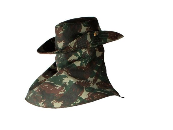 Chapéu Australiano Camuflado c/ Saia - Icel