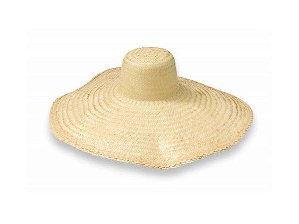 Chapéu de Palha Guaira Carapuca c/ Aba de Sombreiro - Icel