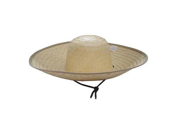 Chapéu de Palha Guaira Carapuca c/ Barbicacho - Icel