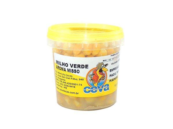 Isca Pronta Milho Verde em Conserva Sabor Missô 150g - Ceva Iscas
