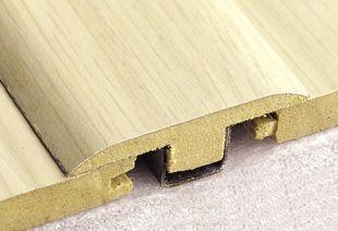 Durafloor Acabamento perfil de porta junção na cor Cerezo Carmel * preço por barra com 2,10 metros lineares