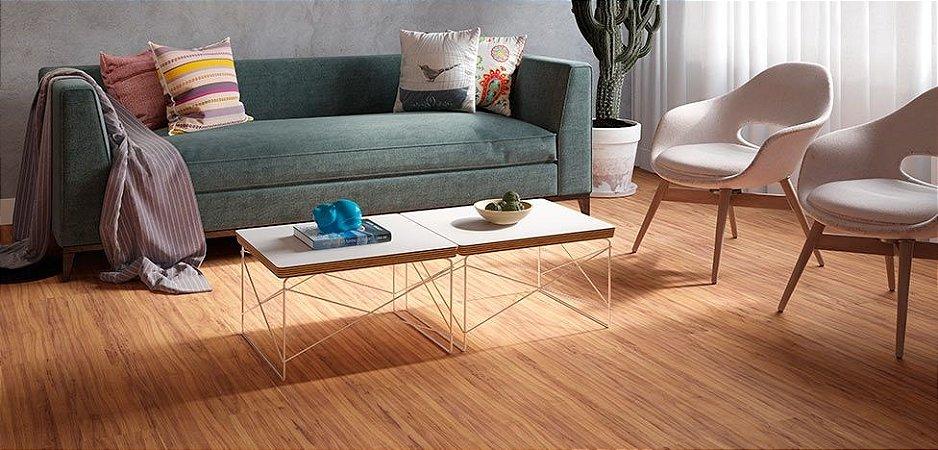 Piso Laminado Durafloor New Way Amêndola Curação - preço por caixa com 2,50 m²