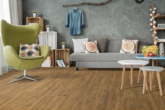 Piso Laminado Eucafloor Gran Elegance encaixe 2G novo CLICK Carvalho Douro - preço por caixa com 2,41 m²