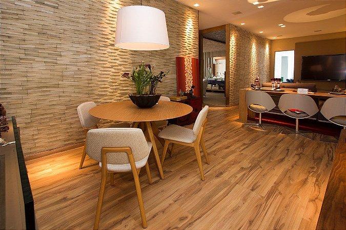 Piso Laminado Eucafloor New Elegance encaixe 2G novo CLICK Carvalho Córdoba - preço por caixa com 2,77 m²
