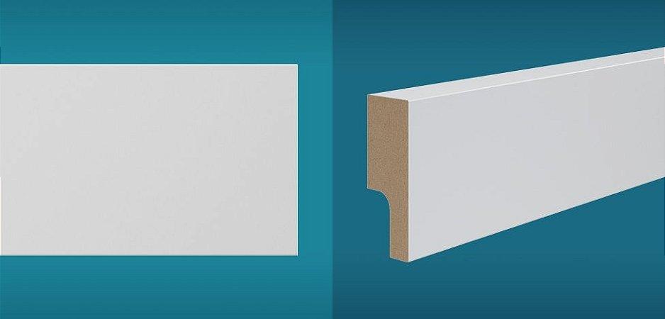 Rodapé Duratex em MDF Ultra Resistente essencial e-05 05cm preço por barra com 2,10 metros lineares