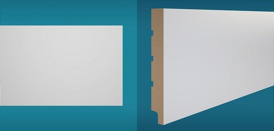 Rodapé Duratex em MDF Ultra Resistente essencial e-05 20cm preço por barra com 2,10 metros lineares