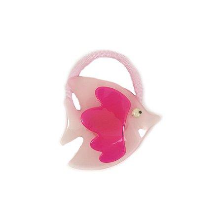 Rabicó Peixe de Acrílico Rosa (c