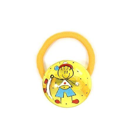 Rabicó de Cabelo Amarelo com Desenho