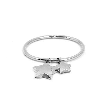 Pulseira Bracelete com Estrelas