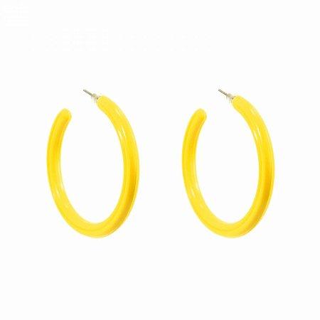 Brinco Argola Amarelo