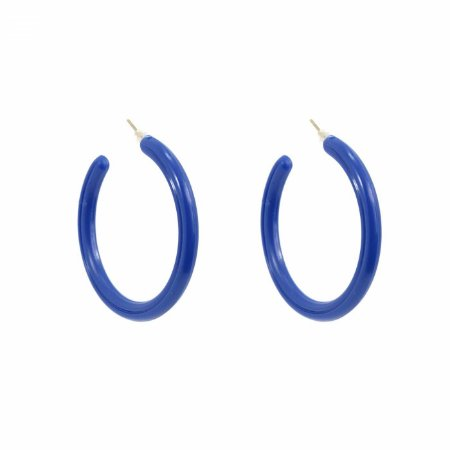 Brinco Argola Azul