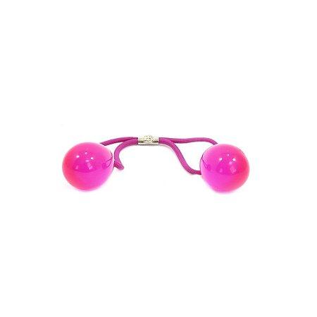 Rabicó Bola Dupla Rosa Neon