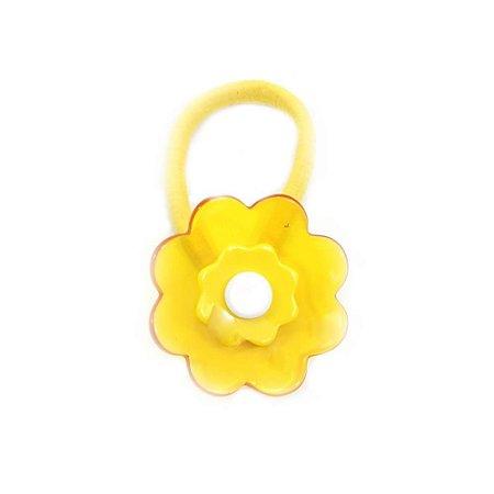 Rabicó Flor Acrílica Amarela