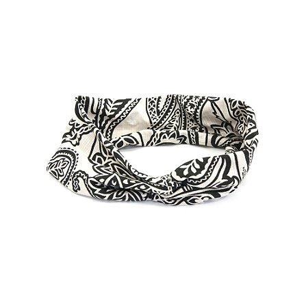 Headband Turbante Paisley