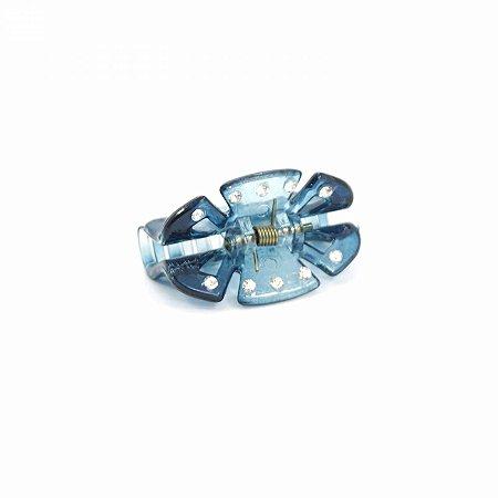 Piranha Azul com Strass