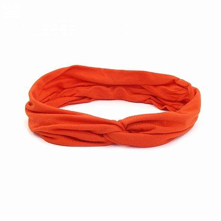 Headband Turbante Laranja