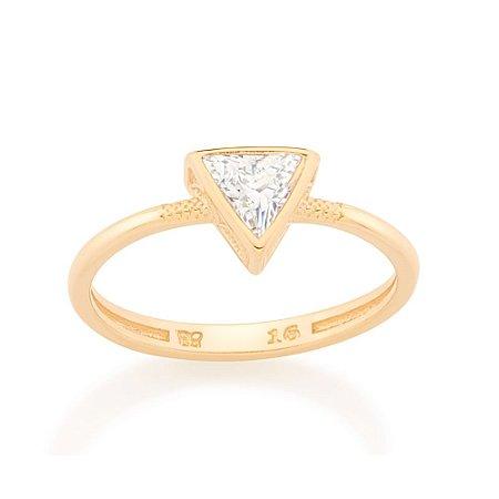 Anel Skinny Ring Triângulo Rommanel